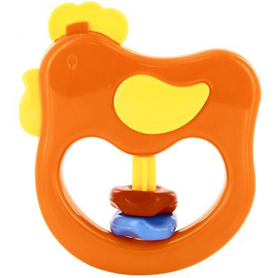 Курносики Погремушка Петя-петушок цвет оранжевый21344Забавная погремушка Петя-петушок непременно понравится малышу и не позволит ему скучать. Погремушка представляет собой пластиковое кольцо в виде петушка, на котором расположены рельефные подвижные разноцветные кольца. Удобная форма погремушки позволит малышу с легкостью взять и держать ее. Погремушка формирует у ребенка геометрическое видение предметов. Развивает слух, моторику, мышление, концентрацию внимания, цветовое восприятие. Погремушка выполнена из прочного и безопасного материала.