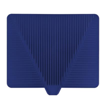 Сушилка для посуды Bodum Bistro, цвет: синий, 38 см х 34 смA11548-528-Y15Эластичная сушилка для посуды Bodum Bistro, выполненная из гибкого силикона, защитит кухонную столешницу от влаги. Благодаря ребристой поверхности, которая расположена под наклоном, вода стекает в одну сторону. Направьте боковой носик в раковину и вода будет стекать туда. Если рядом раковины нет, то используйте обратную сторону сушилки, которая будет просто собирать воду внутри. Ваша посуда высохнет быстрее, если после мойки вы поместите ее на легкую, современную сушилку. Сушилка для посуды Bodum Bistro станет незаменимым атрибутом на вашей кухне.