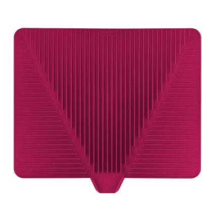 Сушилка для посуды Bodum Bistro, цвет: розовый, 38 х 34 смA11548-634-Y15Эластичная сушилка для посуды Bodum Bistro, выполненная из гибкого силикона, защитит кухонную столешницу от влаги. Благодаря ребристой поверхности, которая расположена под наклоном, вода стекает в одну сторону. Направьте боковой носик в раковину и вода будет стекать туда. Если рядом раковины нет, то используйте обратную сторону сушилки, которая будет просто собирать воду внутри. Ваша посуда высохнет быстрее, если после мойки вы поместите ее на легкую, современную сушилку. Сушилка для посуды Bodum Bistro станет незаменимым атрибутом на вашей кухне.
