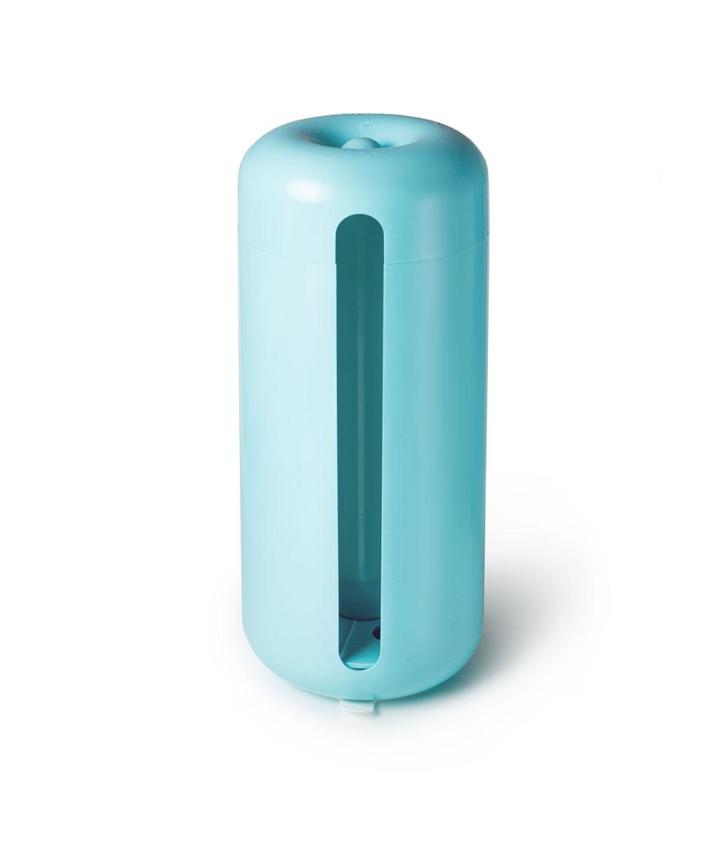 Держатель для бумажных полотенец Siliconezone, цвет: голубойSZ11-KS-11654-AAДержатель Siliconezone предназначен для бумажных полотенец большого размера. Благодаря тому, что бумажное полотенце аккуратно скрыто внутри держателя (но при этом легкодоступно), вид вашей кухни станет более лаконичным. Держатель полотенца крепится к столу при помощи скрытой на дне присоски. Также имеется уникальный регулируемый внутренний фиксатор полотенца.