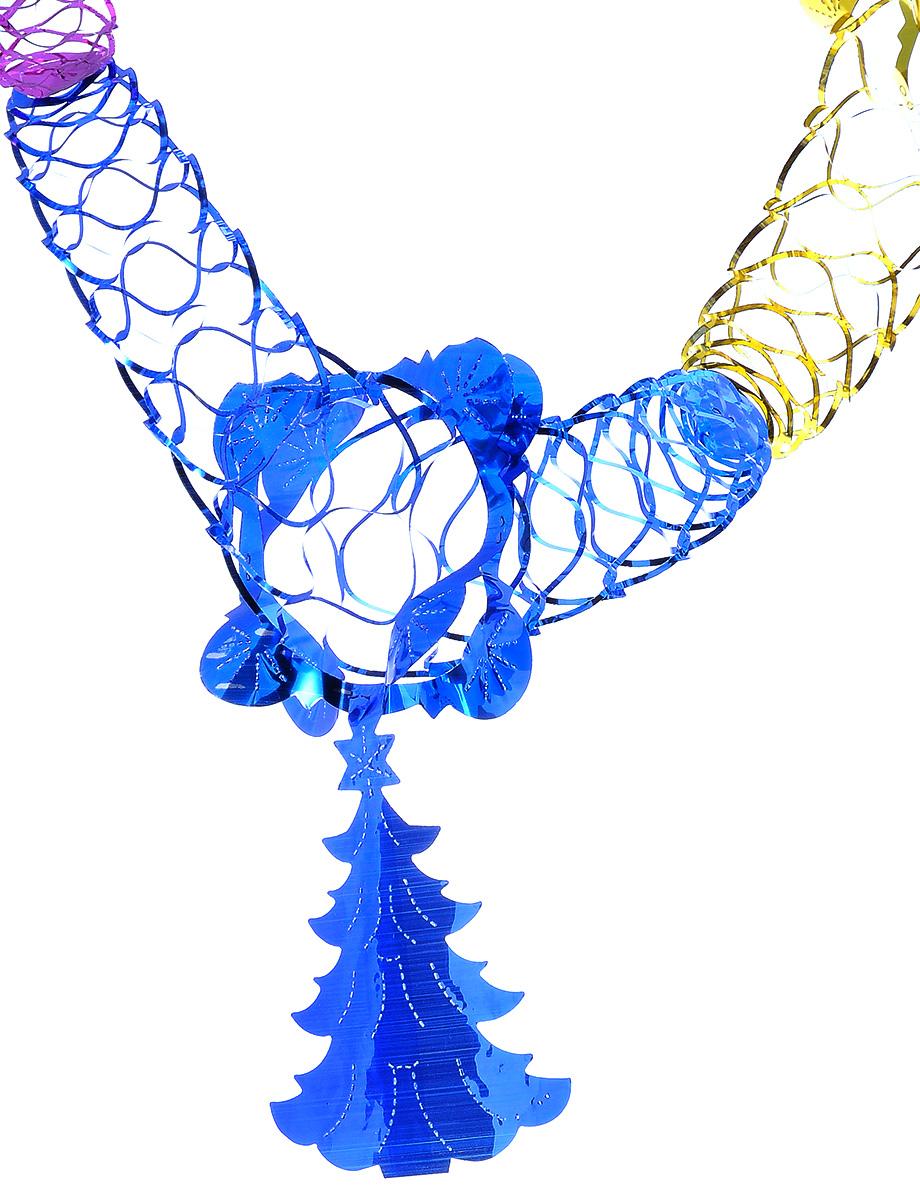 Новогодняя гирлянда Феникс-презент Елочка кудрявая, длина 2,5 м34384Новогодняя гирлянда Феникс-презент Елочка кудрявая состоит из основной части и фигурки в виде елочки. Прекрасно подойдет для декора дома или офиса. Украшение, выполненное из ПЭТ (полиэтилентерефталата), легко складывается и раскладывается. Новогодние украшения несут в себе волшебство и красоту праздника. Они помогут вам украсить дом к предстоящим праздникам и оживить интерьер по вашему вкусу. Создайте в доме атмосферу тепла, веселья и радости, украшая его всей семьей. Размер основной части: 12 см х 12 см. Размер елочки: 14 см х 11,5 см.