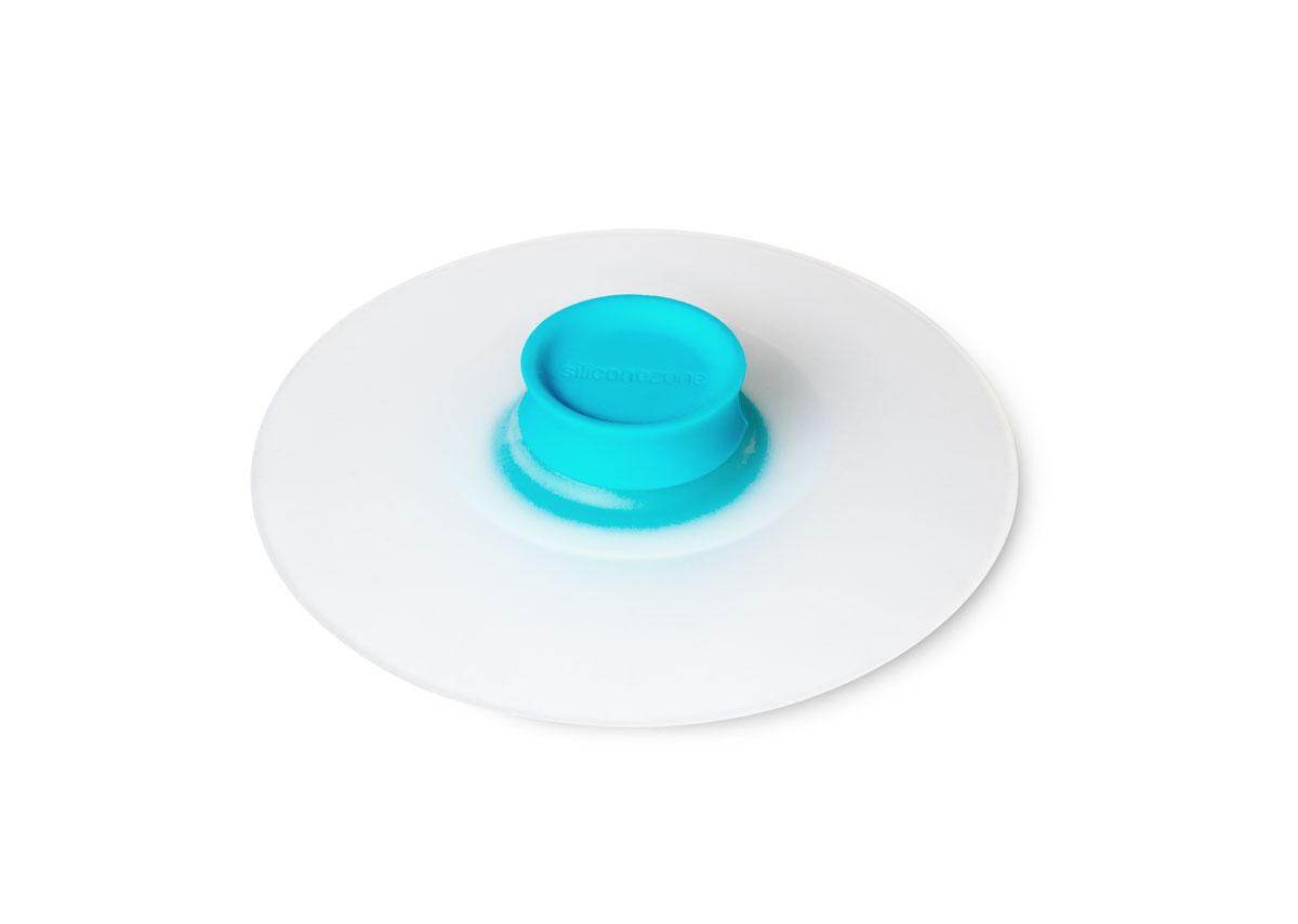 Крышка для заваривания чая Siliconezone, цвет: голубой, диаметр 10,5 смSZ11-KS-11602-AHКрышка Siliconezone изготовлена из гибкого и прозрачного силикона. Она предназначена для герметичного закрытия любой посуды диаметром до 10 см. Крышка идеально подходит для заваривания чая, сохраняя его стойкий аромат и насыщенный вкус. С помощью нее вы также можете аккуратно достать чайный пакетик. Размер крышки: 10,5 х 10,5 х 2,5 см.