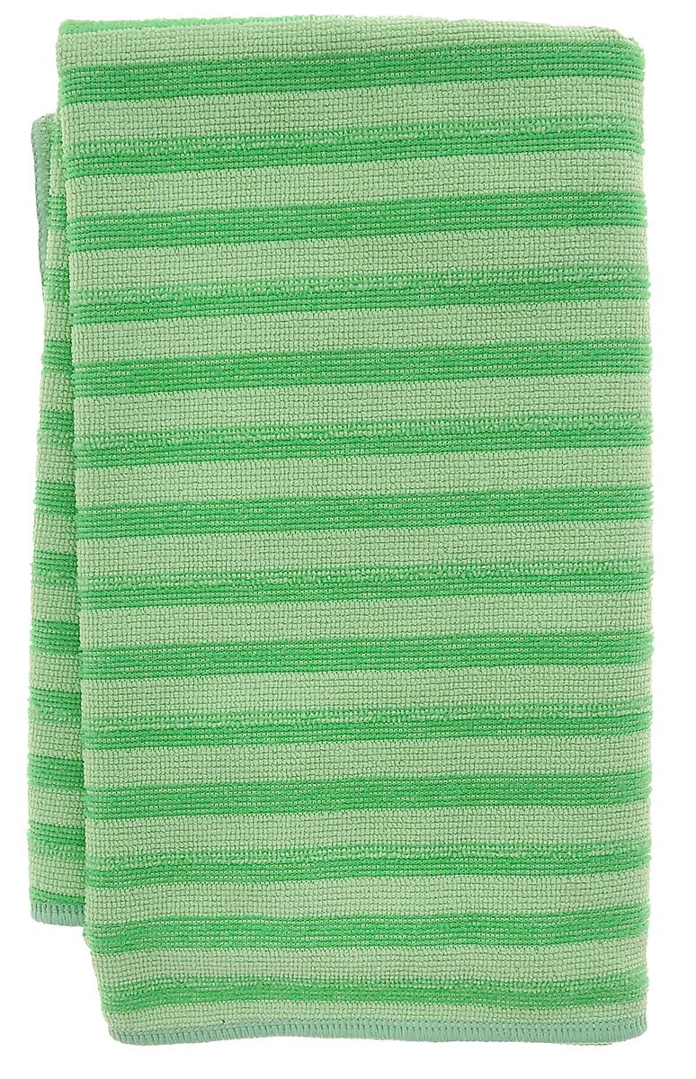 Салфетка для мытья полов Scotch-Brite Ultra, цвет: зеленый, 50 х 60 смXF-0045-0446-0_зеленыйСалфетка Scotch-Brite Ultra, выполненная из 90% полиэстера и 10% полиамида, предназначена для сухой и влажной уборки. Эффективно удаляет грязь и разводы с кафеля, паркета, линолеума и других поверхностей, в том числе застарелые. Не оставляет разводов и царапин, а уникальный материал позволяет проводить уборку без применения моющих средств. Долговечна, выдерживает до 200 циклов стирки в стиральной машине при температуре 60°С.