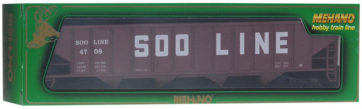 Mehano Саморазгружающийся бункерный грузовой вагон Soo LineT077Саморазгружающийся бункерный грузовой вагон Mehano Soo Line выполнен на высочайшем уровне с мелкими деталями и в точной раскраске железной дороги определенного периода времени. Корпус модели выполнен из пластика, колеса выполнены из металла. Модель высоко детализирована и окрашена в соответствии со своим реальным прототипом. В комплект также входят два пластиковых крепления, благодаря которым вы сможете соединить вагончики в железнодорожный состав. Коллекционная модель станет не только интересной игрушкой для ребенка, интересующегося поездами, но и займет достойное место в любой коллекции. Модель совместима с железными дорогами Mehano. Оставаясь одной из наиболее желанных игрушек для большинства мальчишек и даже взрослых коллекционеров, железная дорога Mehano с дистанционным управлением неподвластна влиянию моды и времени. Для сторонников технологических новинок создаются модели современных скоростных составов, а ценители истории могут выбрать подходящий комплект,...