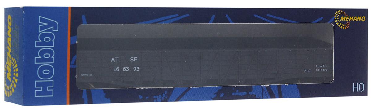 Mehano Гондола железнодорожная AT&SFT073Гондола железнодорожная Mehano AT&SFвыполнена на высочайшем уровне с мелкими деталями и в точной раскраске железной дороги определенного периода времени. Корпус модели железнодорожной гондолы выполнен из пластика, колеса выполнены из металла. Модель высоко детализирована и окрашена в соответствии со своим реальным прототипом. В комплект также входят два пластиковых крепления, благодаря которым вы сможете соединить вагончики в железнодорожный состав. Коллекционная модель станет не только интересной игрушкой для ребенка, интересующегося поездами, но и займет достойное место в любой коллекции. Модель совместима с железными дорогами и поездами Mehano. Оставаясь одной из наиболее желанных игрушек для большинства мальчишек и даже взрослых коллекционеров, железная дорога Mehano неподвластна влиянию моды и времени. Для сторонников технологических новинок создаются модели современных скоростных составов, а ценители истории могут выбрать подходящий комплект, в точности...
