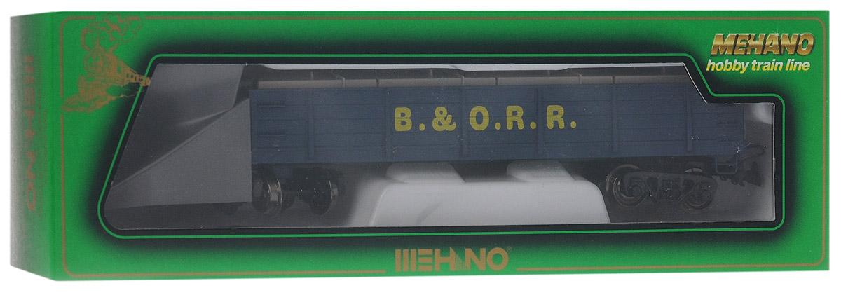 Mehano Вагон-снегоуборщик Baltimore & OhioT206Вагон-снегоуборщик Mehano Baltimore & Ohio выполнен на высочайшем уровне с мелкими деталями и в точной раскраске железной дороги определенного периода времени. Корпус модели вагона-снегоуборщика выполнен из пластика, колеса выполнены из металла. Модель высоко детализирована и окрашена в соответствии со своим реальным прототипом. Вагон имеет два пластиковых крепления, благодаря которым вы сможете соединить вагончики в железнодорожный состав. Коллекционная модель станет не только интересной игрушкой для ребенка, интересующегося поездами, но и займет достойное место в любой коллекции. Модель совместима с железными дорогами и поездами Mehano. Оставаясь одной из наиболее желанных игрушек для большинства мальчишек и даже взрослых коллекционеров, железная дорога Mehano неподвластна влиянию моды и времени. Для сторонников технологических новинок создаются модели современных скоростных составов, а ценители истории могут выбрать подходящий комплект, в точности воссоздающий...