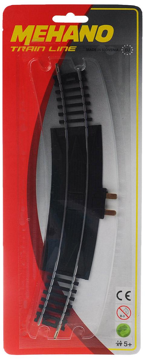 Mehano Рельс-терминалF269Рельс-терминал для железнодорожного полотна Mehano позволит вам проявить фантазию и создать свой собственный, неповторимый железнодорожный трек. Рельс-терминал изгибается под углом 30°. Рельс-терминал выполнен из высококачественного прочного пластика и никеля в масштабе 1:87, он подходит для железной дороги с шириной колеи 16,5 мм. Такая железная дорога будет совместима со всеми поездами и вагонами Mehano в масштабе 1:87, а также с другими элементами железнодорожных треков. Дополнительный элемент для железнодорожного полотна Mehano станет незаменимым аксессуаром для вашей миниатюрной железной дороги.
