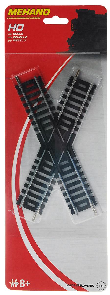 Mehano Перекресток 45°F228Перекресток 45° для железнодорожного полотна Mehano позволит вам проявить фантазию и создать свой собственный, неповторимый железнодорожный трек. Перекресток выполнен из высококачественного прочного пластика и никеля в масштабе 1:87, он подходит для железной дороги с шириной колеи 16,5 мм. Такая железная дорога будет совместима со всеми поездами и вагонами Mehano в масштабе 1:87, а также с другими элементами железнодорожных треков. Дополнительный элемент для железнодорожного полотна Mehano станет незаменимым аксессуаром для вашей миниатюрной железной дороги.