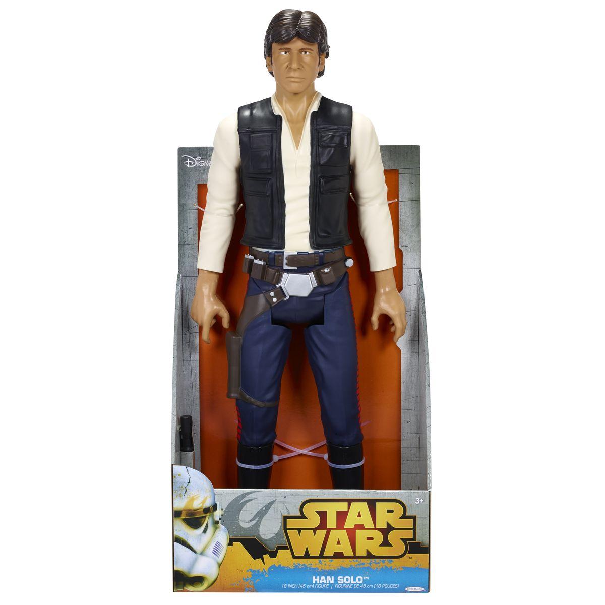 Фигура Звездные Войны Хан Соло, 46 см835850Фигура 46 см персонажа из саги Звездные Войны. 7 точек артикуляции, от 3х лет