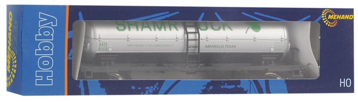 Mehano Вагон-цистерна ShamrockT060Вагон-цистерна Mehano Shamrock выполнен на высочайшем уровне с мелкими деталями и в точной раскраске железной дороги определенного периода времени. Корпус модели вагона-цистерны выполнен из пластика, колеса выполнены из металла. Модель высоко детализирована и окрашена в соответствии со своим реальным прототипом. Вагон имеет два пластиковых крепления, благодаря которым вы сможете соединить вагончики в железнодорожный состав. Коллекционная модель станет не только интересной игрушкой для ребенка, интересующегося поездами, но и займет достойное место в любой коллекции. Модель совместима с железными дорогами и поездами Mehano. Оставаясь одной из наиболее желанных игрушек для большинства мальчишек и даже взрослых коллекционеров, железная дорога Mehano неподвластна влиянию моды и времени. Для сторонников технологических новинок создаются модели современных скоростных составов, а ценители истории могут выбрать подходящий комплект, в точности воссоздающий легендарные...