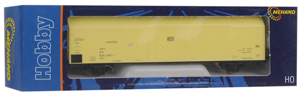 Mehano Вагон-термос IBBHS-410, цвет: желтыйT631Вагон-термос Mehano IBBHS410 826 4 087-3-DC выполнен на высочайшем уровне с мелкими деталями и в точной раскраске железной дороги определенного периода времени. Корпус модели вагона для перевозки грузов выполнен из пластика, колеса выполнены из металла. Модель высоко детализирована и окрашена в соответствии со своим реальным прототипом. Вагон имеет крепления, благодаря которым вы сможете соединить вагончики в железнодорожный состав. Коллекционная модель станет не только интересной игрушкой для ребенка, интересующегося поездами, но и займет достойное место в любой коллекции. Модель совместима с железными дорогами и поездами Mehano. Оставаясь одной из наиболее желанных игрушек для большинства мальчишек и даже взрослых коллекционеров, железная дорога Mehano неподвластна влиянию моды и времени. Для сторонников технологических новинок создаются модели современных скоростных составов, а ценители истории могут выбрать подходящий комплект, в точности воссоздающий...