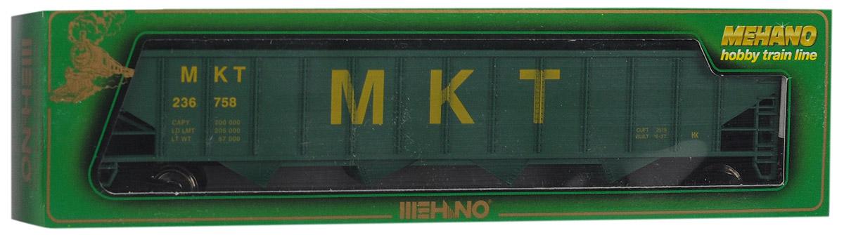 Mehano Саморазгружающийся бункерный грузовой вагон MKTT077Саморазгружающийся бункерный грузовой вагон Mehano MKT выполнен на высочайшем уровне с мелкими деталями и в точной раскраске железной дороги определенного периода времени. Корпус модели выполнен из пластика, колеса выполнены из металла. Модель высоко детализирована и окрашена в соответствии со своим реальным прототипом. В комплект также входят два пластиковых крепления, благодаря которым вы сможете соединить вагончики в железнодорожный состав. Коллекционная модель станет не только интересной игрушкой для ребенка, интересующегося поездами, но и займет достойное место в любой коллекции. Модель совместима с железными дорогами Mehano. Оставаясь одной из наиболее желанных игрушек для большинства мальчишек и даже взрослых коллекционеров, железная дорога Mehano с дистанционным управлением неподвластна влиянию моды и времени. Для сторонников технологических новинок создаются модели современных скоростных составов, а ценители истории могут выбрать подходящий комплект, в...