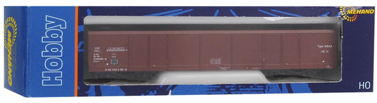 Mehano Грузовой вагон EAOS-106T630Грузовой вагон Mehano EAOS-106 530 2 183-6-DC выполнен на высочайшем уровне с мелкими деталями и в точной раскраске железной дороги определенного периода времени. Корпус модели вагона для перевозки грузов выполнен из пластика, колеса выполнены из металла. Модель высоко детализирована и окрашена в соответствии со своим реальным прототипом. Вагон имеет два пластиковых крепления, благодаря которым вы сможете соединить вагончики в железнодорожный состав. Коллекционная модель станет не только интересной игрушкой для ребенка, интересующегося поездами, но и займет достойное место в любой коллекции. Модель совместима с железными дорогами и поездами Mehano. Оставаясь одной из наиболее желанных игрушек для большинства мальчишек и даже взрослых коллекционеров, железная дорога Mehano неподвластна влиянию моды и времени. Для сторонников технологических новинок создаются модели современных скоростных составов, а ценители истории могут выбрать подходящий комплект, в точности...