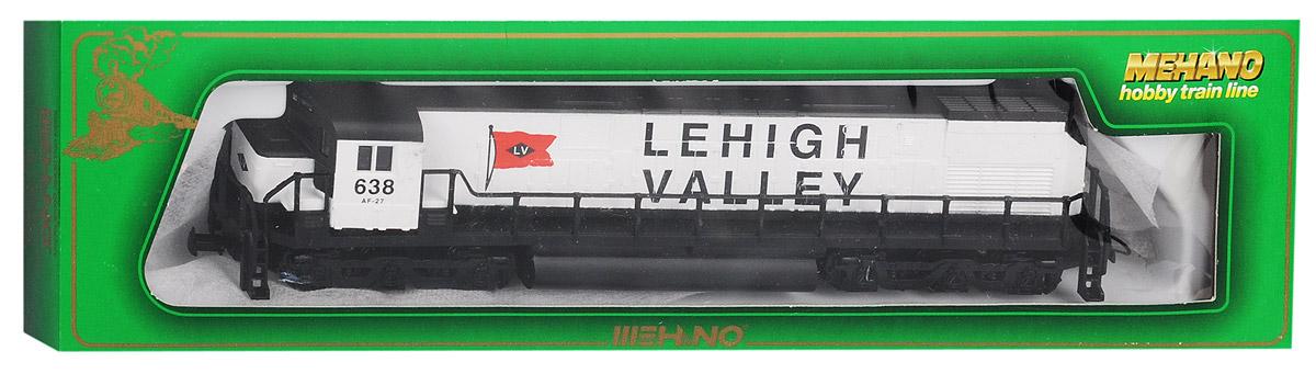 Mehano Дизельный тепловоз Lehigh ValleyT015Дизельный тепловоз Mehano Lehigh Valley выполнен на высочайшем уровне с мелкими деталями и в точной раскраске железной дороги определенного периода времени. Корпус модели тепловоза выполнен из пластика, колеса выполнены из металла. Модель высоко детализирована и окрашена в соответствии со своим реальным прототипом. Тепловоз соответствует оригиналу ІІІ эпохи (послевоенный период 1946-1966 года). Скорость и направление движения регулируются поворотом ручки на блоке питания, 3-полюсной мотор обеспечивает плавность хода. Модель оснащена стандартной cцепкой типа накидная петля и дополнен передней лампой с реалистичными световыми эффектами. Коллекционная модель станет не только интересной игрушкой для ребенка, интересующегося поездами, но и займет достойное место в любой коллекции. Модель совместима с железными дорогами и вагонами Mehano. Оставаясь одной из наиболее желанных игрушек для большинства мальчишек и даже взрослых коллекционеров, железная дорога Mehano...