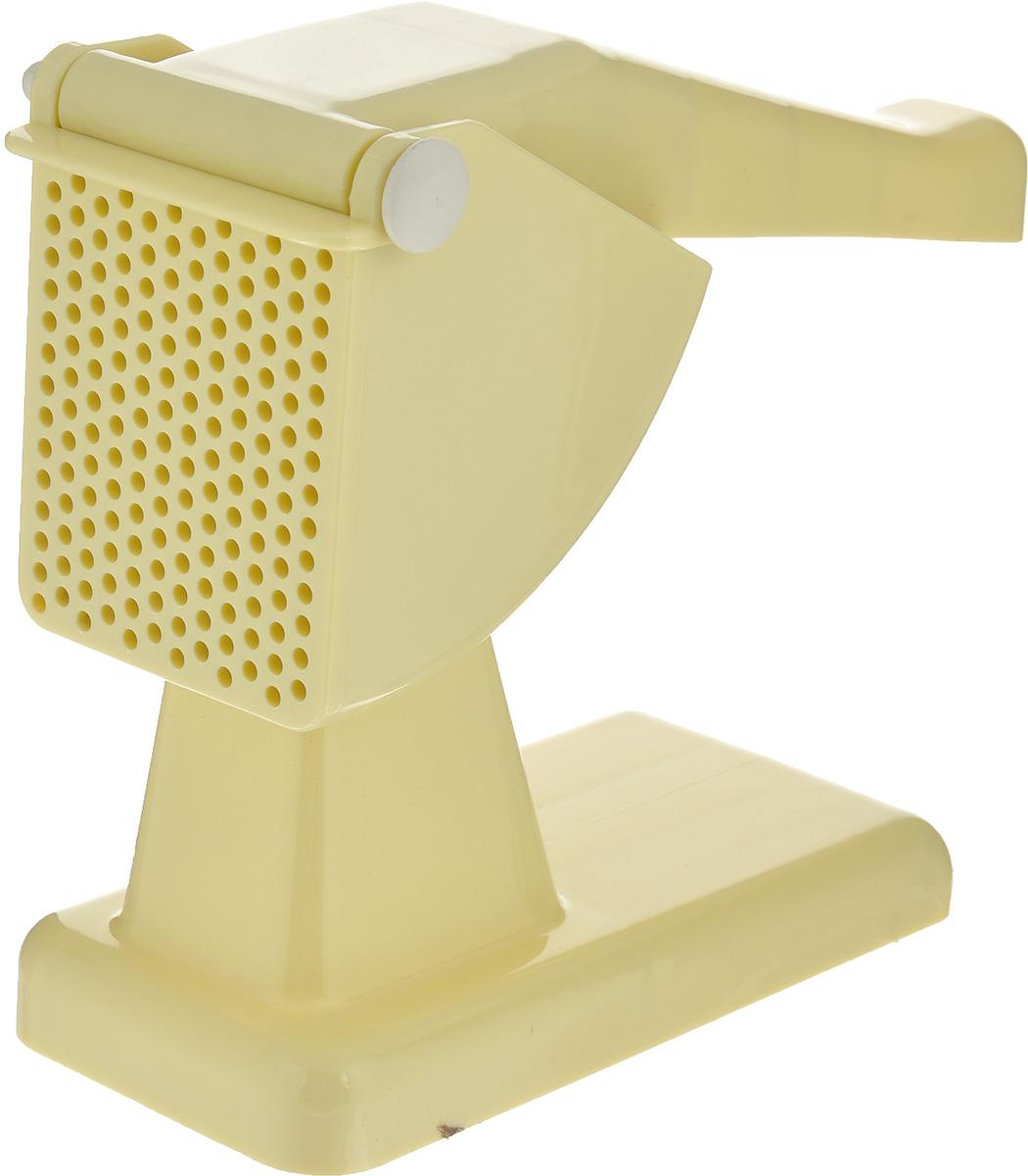 Картофелемялка Rigamonti, цвет: цвет: светло-желтый4317_светло-желтыйКартофелемялка Rigamonti, выполненная из высококачественного пластика, станет вашим незаменимым помощником на кухне. Картофелемялка предназначена для получения пюре из любых отварных овощей. Картофелемялка Rigamonti - практичный и необходимый подарок любой хозяйке!
