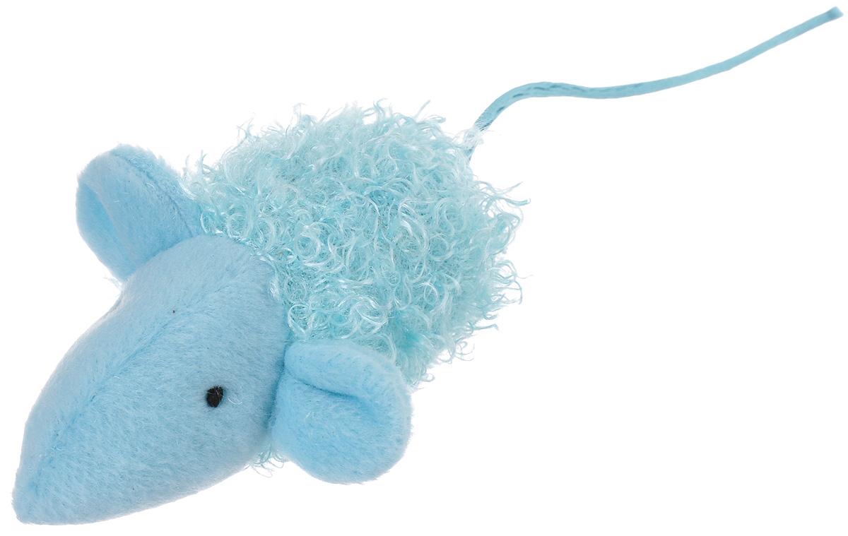 Игрушка для кошек V.I.Pet Мышка, с мятой, цвет: голубойC-104_голубойМягкая игрушка для кошек V.I.Pet Мышка выполнена из текстиля. Играя с этой забавной игрушкой, маленькие котята развиваются физически, а взрослые кошки и коты поддерживают свой мышечный тонус. Изделие выполнено в виде мыши. В наполнитель игрушки добавлена кошачья мята. Кошачья мята - растение, запах которого делает кошку более игривой и любопытной. С помощью этого средства кошка легче перенесет путешествие на автомобиле, посещение ветеринарного врача, переезд на новую квартиру.