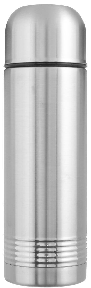 Термос Emsa Senator, цвет: стальной, 0,7 л618701600Простая и гармоничная форма термоса Emsa Senator, выполненного из стали, удовлетворит желания любого потребителя. Термос оснащен герметичным клапаном и крышкой, которую можно использовать в качестве стакана, а благодаря системе высококачественной вакуумной изоляции он сохранит ваши напитки горячими или холодными надолго. Диаметр горлышка термоса: 5 см. Диаметр дна термоса: 8 см. Высота термоса (с учетом крышки): 26 см. Сохранение холодной температуры: 24 ч. Сохранение горячей температуры: 12 ч.
