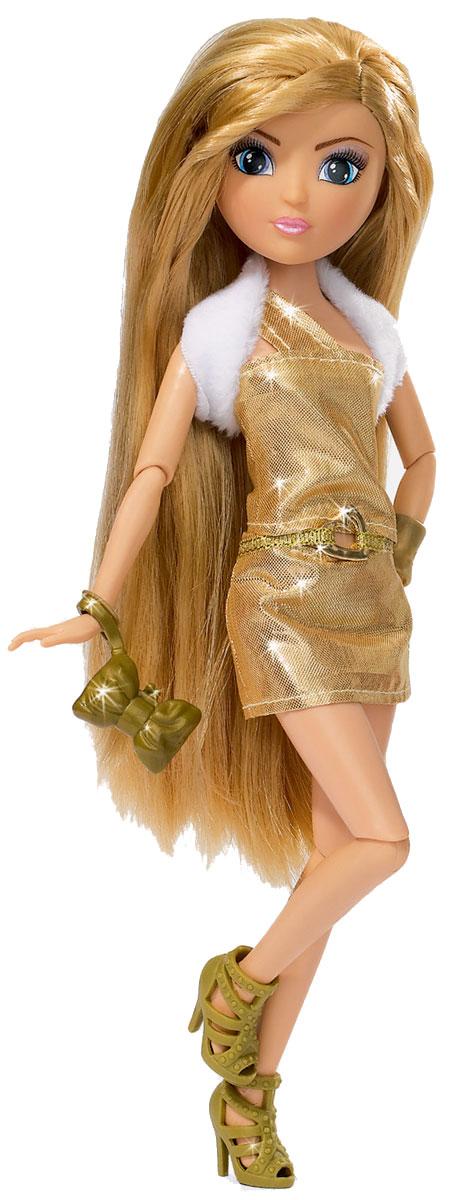 Simba Кукла Супермодель Juls5634399Кукла Simba Supermodel Juls надолго займет внимание вашей малышки и подарит ей множество счастливых мгновений. Кукла изготовлена из пластика, ее голова, ручки и ножки подвижны, что позволяет придавать ей разнообразные позы. Кукла одета в стильное короткое платьице золотого цвета, белую жилетку и красивые туфельки на высоком каблучке. Также в набор входят дополнительные аксессуары, которые сделают её красивой и стильной. Чудесные длинные волосы куклы так весело расчесывать и создавать из них всевозможные прически, плести косички, жгутики и хвостики. Благодаря играм с куклой, ваша малышка сможет развить фантазию и любознательность, овладеть навыками общения и научиться ответственности. Порадуйте свою принцессу таким прекрасным подарком!