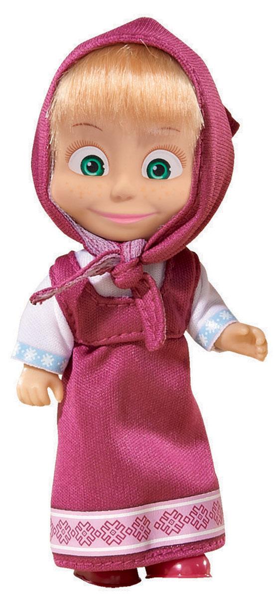 Simba Мини-кукла Маша в малиновом сарафане9301678_3Мини-кукла Маша непременно понравится вашей малышке и надолго займет ее внимание. Игрушка выполнена из безопасного материала в виде персонажа Маши из мультсериала Маша и Медведь. Кукла, одетая в сарафан и с косынкой на голове отлично передает задорный характер этой популярной героини мультфильма Маша и медведь. Маша в малиновом сарафане - это самый известный и классический образ персонажа. Именно такой ее помнят и любят многочисленные зрители замечательного отечественного мультика Маша и медведь. Ручки, ножки и голова у Маши подвижны. У куколки зеленые глаза и загадочная улыбка, а из-под косынки выглядывает непослушная челка. Оригинальный стиль и великолепное качество исполнения делают эту игрушку чудесным подарком к любому празднику, а жизнерадостный образ представит такой подарок в самом лучшем свете.