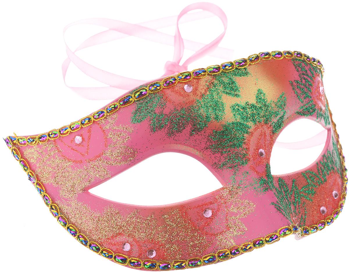 Маска карнавальная Феникс-Презент Цветы31132Карнавальная маска Феникс-Презент Цветы, изготовленная из пластика и украшенная блестками, внесет нотку задора и веселья в праздник. Маска станет завершающим штрихом в создании праздничного образа. Изделие крепится на голове при помощи атласной ленты. В этой роскошной маске вы будете неотразимы!