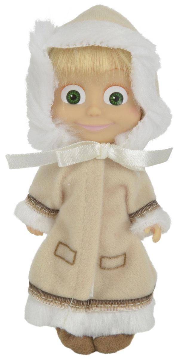 Simba Маша и Медведь Мини-кукла Маша Эскимоска9301680_2Мини-кукла Маша непременно понравится вашей малышке и надолго займет ее внимание. Игрушка выполнена из безопасного материала в виде персонажа Маши из мультсериала Маша и Медведь. Иногда в лесу становится слишком холодно, как на Северном полюсе. Тогда неутомимая Маша может предстать в образе эскимоски! Она надевает самый теплый наряд из своего гардероба - длинное плотное пальто кремового цвета, с оборками из белого меха и шапочку в тон пальто. А на ножках у Маши-эскимоски - теплые унты. Ручки, ножки и голова у Маши подвижны. У куколки зеленые глаза и загадочная улыбка, а из-под шапочки выглядывает непослушная челка. Оригинальный стиль и великолепное качество исполнения делают эту игрушку чудесным подарком к любому празднику, а жизнерадостный образ представит такой подарок в самом лучшем свете.