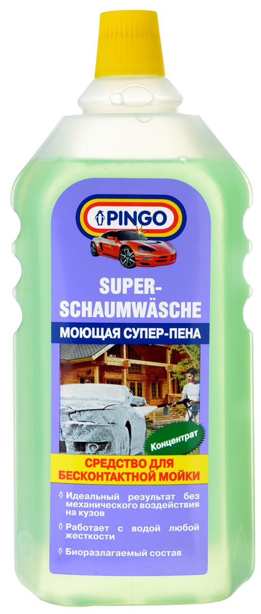Средство для бесконтактной мойки Pingo Супер-пена, 1 л00689-8Средство Pingo Супер-пена - это профессиональный состав для мойки с помощью аппаратов высокого давления. Может применяться в пеногенераторах. Особенности: - быстро и эффективно очищает лакокрасочные покрытия, не повреждая пластиковых, резиновых и виниловых деталей; - легко удаляет масляные и бензиновые загрязнения, дорожную грязь, следы насекомых и почек деревьев; - использование средства для бесконтактной мойки позволяет избежать механического воздействия на лакокрасочное покрытие кузова; - применяется для мойки автомобилей, мотоциклов, прицепов, лодок и многого другого; - великолепный результат при использовании средства с водой любой жесткости. высокая степень биологической разлагаемости. Состав: анионные ПАВ, неионогенные ПАВ, комплексообразователь, гидроксид натрия, краситель, вода. Товар сертифицирован.