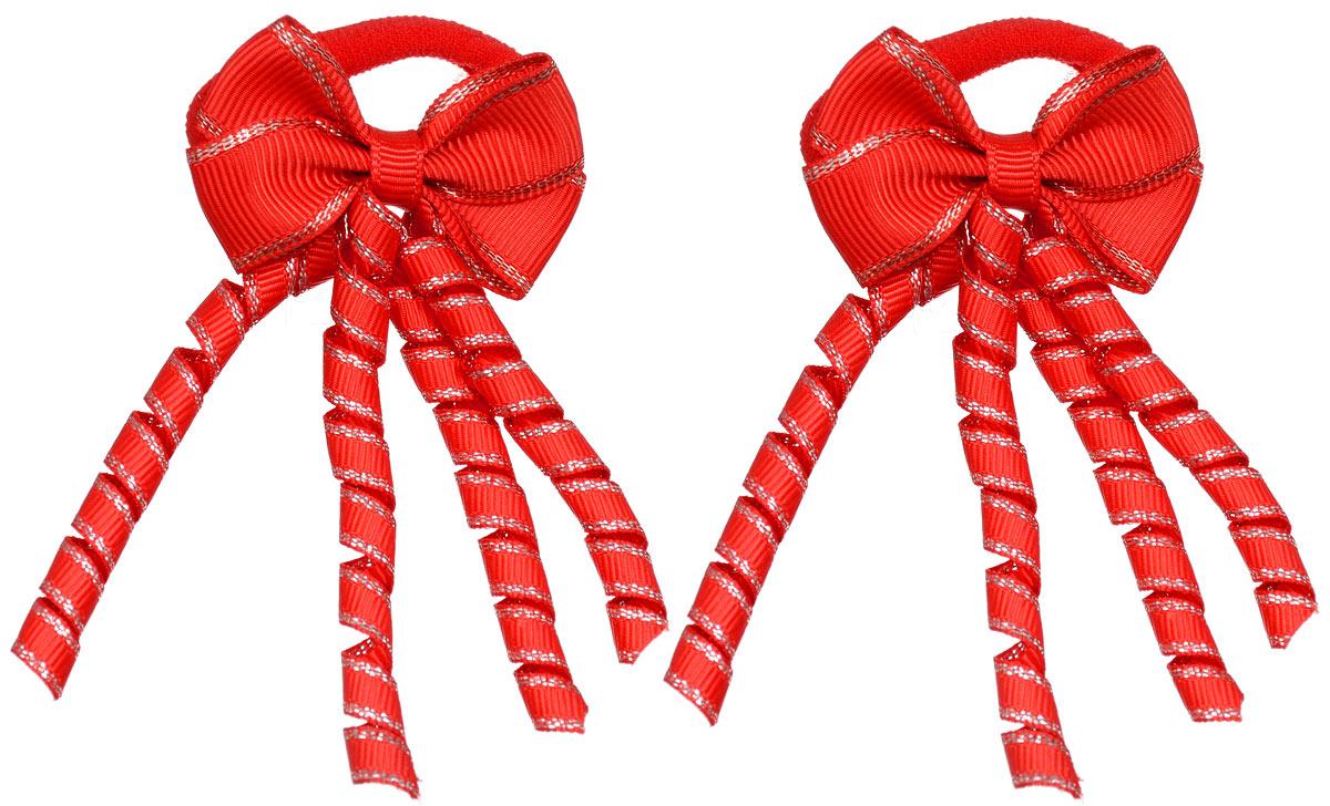 Резинка для волос Baby's Joy, цвет: красный, 2 шт. MN 133