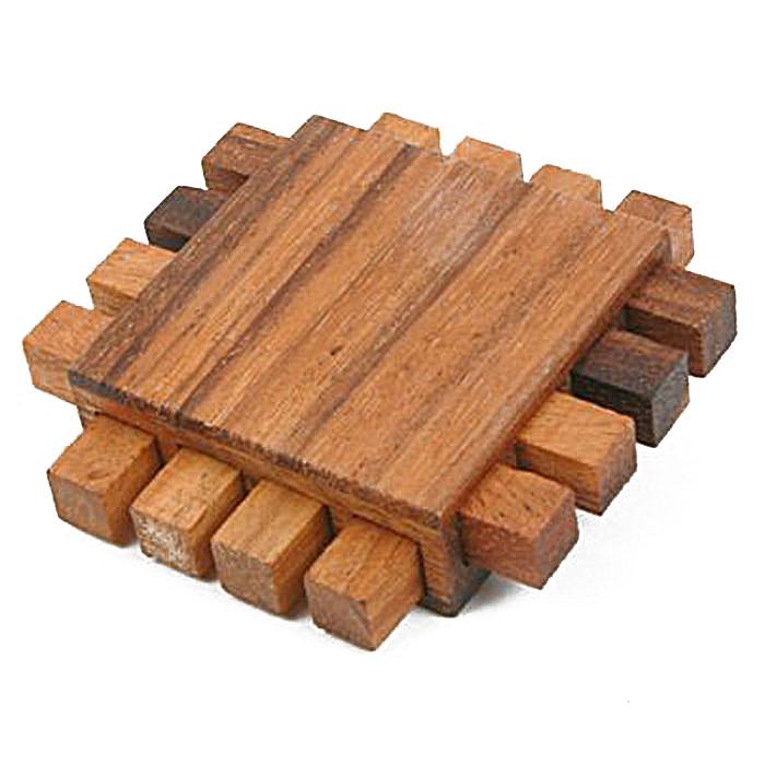 Dilemma Головоломка ТростьIQ160Головоломка Dilemma Трость, выполненная из дерева, станет отличным подарком всем любителям головоломок! Пазл сделан из деревянных деталей разной формы. Попробуйте их вытащить (это совсем не трудно) и собрать обратно (это совсем не легко). Слишком сложно? Воспользуйтесь предложенным решением в качестве подсказки. Игра рассчитана на одного игрока. Головоломка Dilemma Трость стимулирует логику, пространственное мышление и мелкую моторику рук.