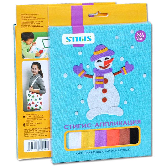 Stigis Стигис-аппликация Снеговик