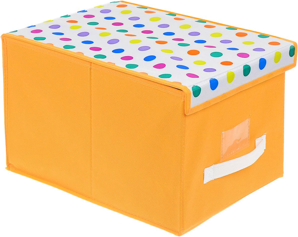 "Чехол-коробка Cosatto ""Кидс"", цвет: оранжевый, белый, 30 см х 40 см х 25 см"