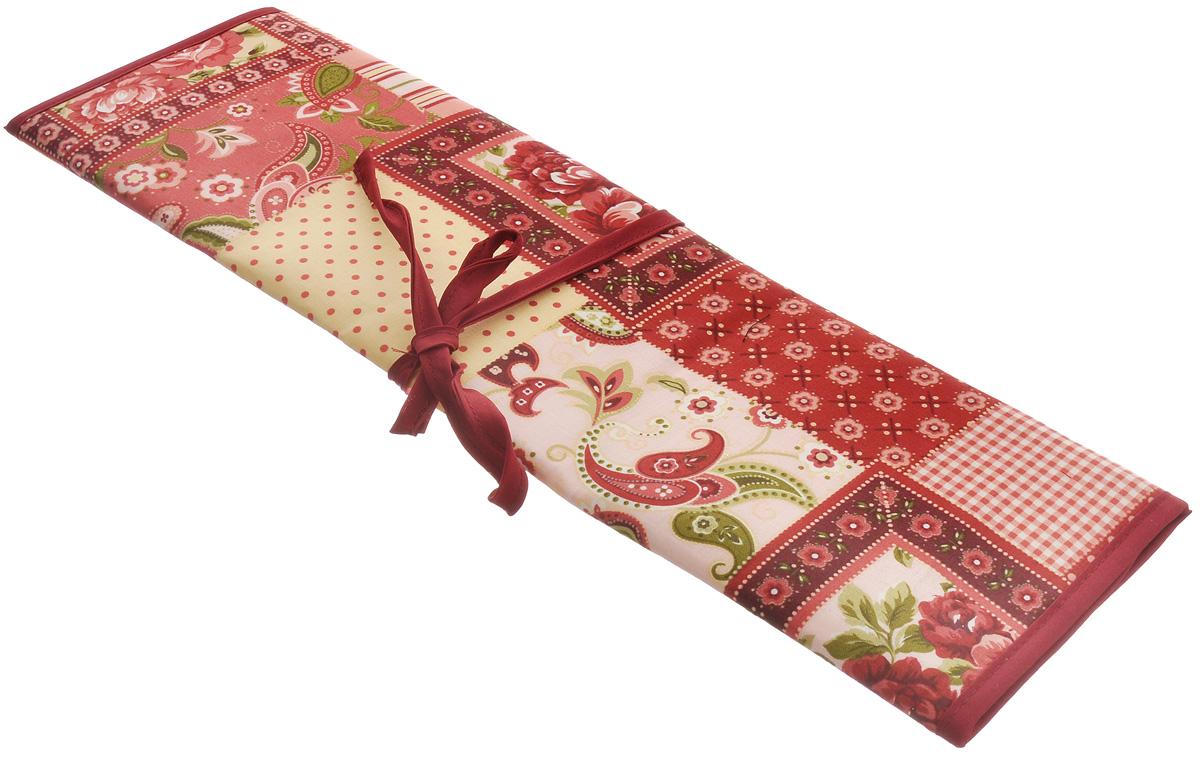 Футляр для спиц и крючков Prym Пэчворк, 37 х 43 см612282Футляр для спиц и крючков Prym Пэчворк выполнен из текстиля и декорирован красочным рисунком. Он содержит одно большое отделение для спиц и крючков разной длины. Он содержит одно большое отделение для различных аксессуаров и 8 узких отделений для спиц и крючков разной длины. Мягкий, приятный и удобный футляр, в котором всегда в порядке будут храниться инструменты для вязания. Футляр компактен, он складывается в 3 сложения и завязывается на тесьму. Размер футляра (в разложенном виде): 37 см х 43 см. Размер сложенного футляра: 13 см х 43 см. УВАЖАЕМЫЕ КЛИЕНТЫ! Обращаем ваше внимание, на тот факт, что спицы и крючки в комплект не входят, а служат для визуального восприятия товара.