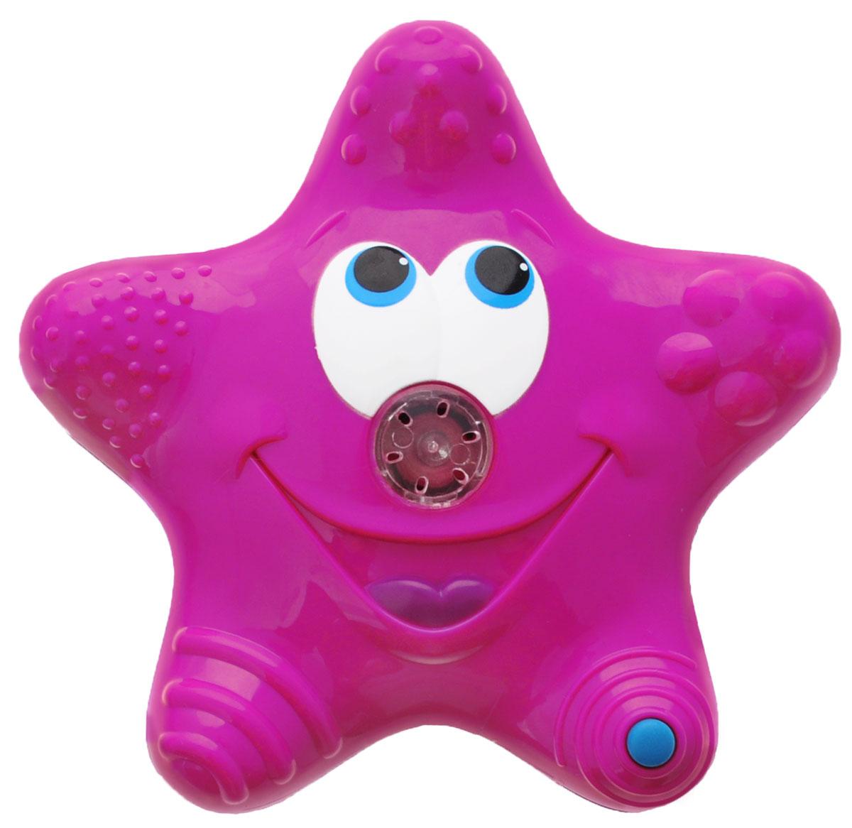 Munchkin Игрушка для ванны Звездочка цвет розовый синийЕ0001060_розовый, синийИгрушка для ванны Munchkin Звездочка привлечет внимание вашего ребенка и превратит купание в веселую игру. Она выполнена из прочного безопасного пластика ярких цветов. Звездочка-фонтан плавает на поверхности воды, светится и вращается для увлекательной игры. Носик подает струйки воды, что, несомненно, позабавит малыша. Игрушка для ванны Munchkin Звездочка способствует развитию воображения, цветового восприятия, тактильных ощущений и мелкой моторики рук. Кредо Munchkin, американской компании с 20-летней историей: избавить мир от надоевших и прозаических товаров, искать умные инновационные решения, которые превращает обыденные задачи в опыт, приносящий удовольствие. Понимая, что наибольшее значение в быту имеют именно мелочи, компания создает уникальные товары, которые помогают поддерживать порядок, организовывать пространство, облегчают уход за детьми - недаром компания имеет уже более 140 патентов и изобретений, используемых в создании ее ...