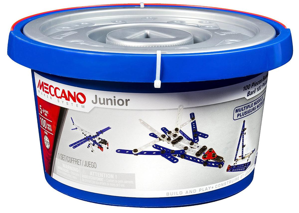 Meccano Конструктор Гидросамолет 8 в 191748Конструктор Meccano Гидросамолет позволит вашему ребенку весело и с пользой провести время. Набор включает в себя 100 деталей из пластика, с помощью которых можно собрать гоночный гидросамолет и еще 7 других конструкций. В набор также входят все необходимые для сборки инструменты и инструкция. Конструктор Meccano Гидросамолет поможет ребенку развить мелкую моторику рук, координацию движений и усидчивость.