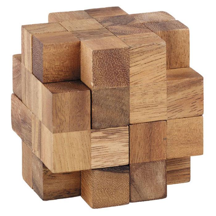 Dilemma Головоломка ПропеллерIQ119Головоломка Dilemma Пропеллер, выполненная из дерева, станет отличным подарком всем любителям головоломок! Пазл состоит из 10 деревянных деталей. Разберите пазл и соберите его снова в форме куба. Слишком сложно? Воспользуйтесь подсказкой из предложенного решения. Игра рассчитана на одного игрока. Головоломка Dilemma Пропеллер стимулирует логику, пространственное мышление и мелкую моторику рук.