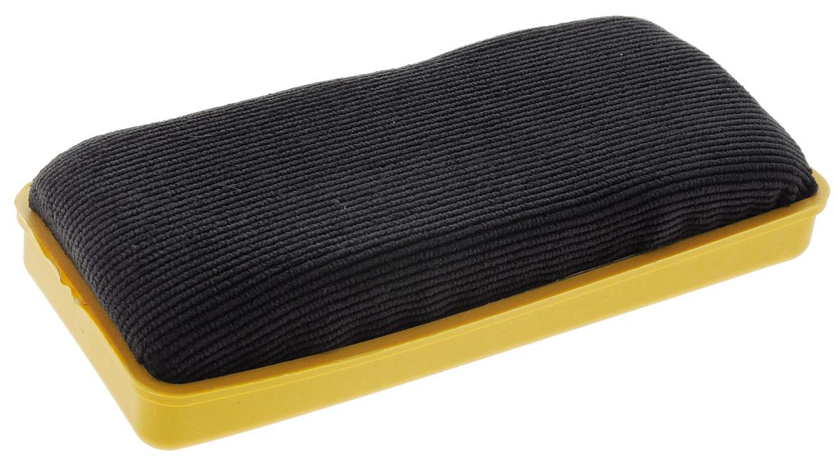 Proff Стирательная губка для офисных досок цвет желтыйPF-1230_желтыйГубка для офисных досок Proff - неотъемлемый атрибут любого офиса. Она предназначена специально для маркерных и меловых досок. Губка имеет прямоугольную форму. Верхняя ее часть изготовлена из пластика желтого цвета и имеет рельефную поверхность. Стирающий элемент выполнен из мягкого на ощупь материала.