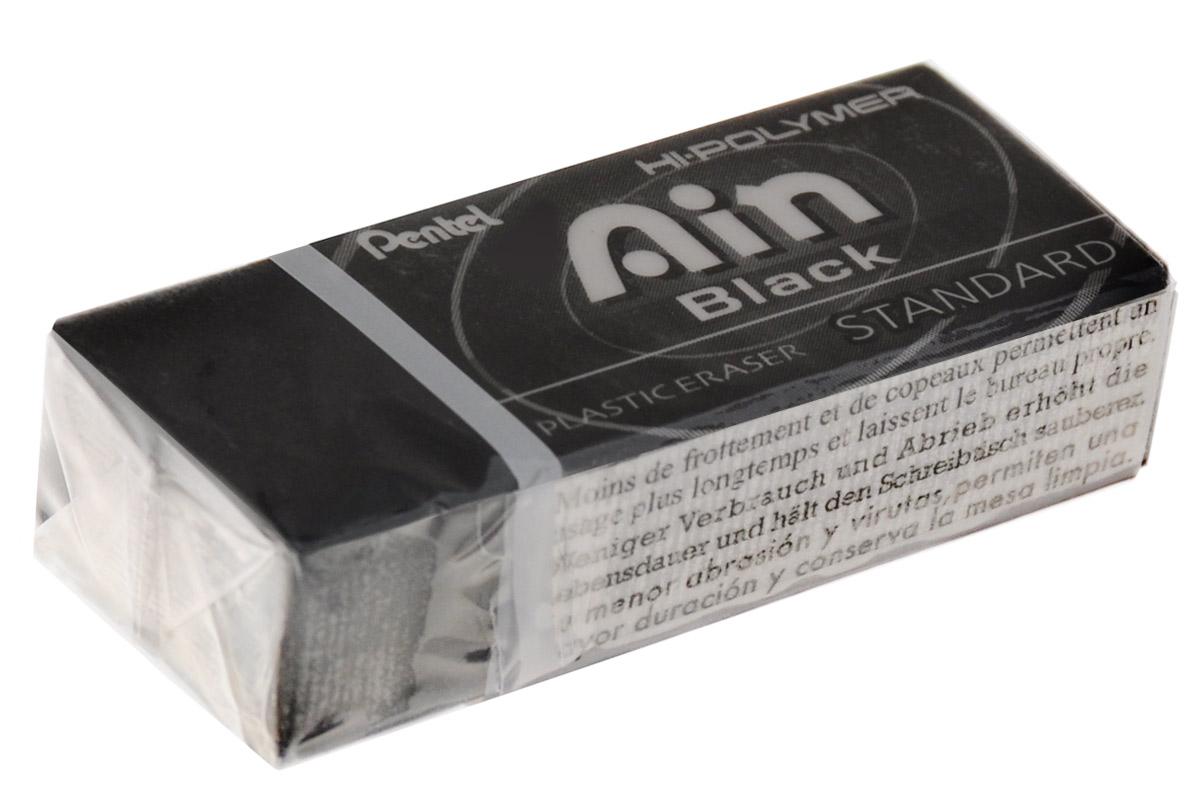 Pentel Ластик Ain Black Eraser цвет черный