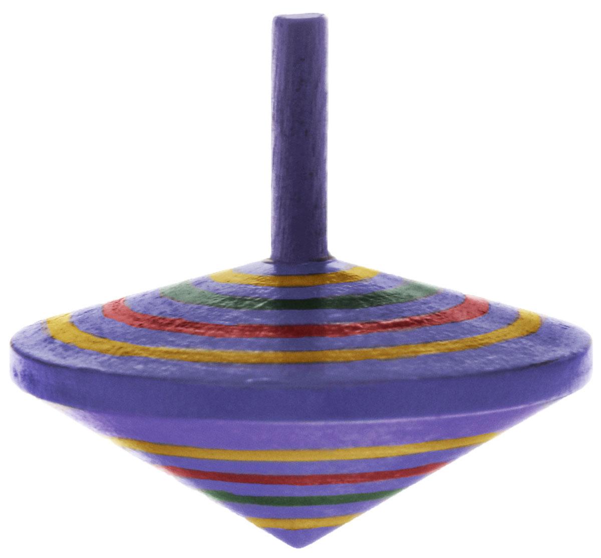 Mapacha Волчок Спиралька цвет фиолетовый76417_фиолетовыйВолчок Спиралька динамическая игрушка, которая знакомит ребенка с физическими понятиями равновесия и движения. Выполнена из качественной древесины. У него тонкая удобная ручка и небольшой вес. Играя с волчком, ребенок развивает внимательность, учится правильно рассчитывать силу и точность движения пальцев и кисти.