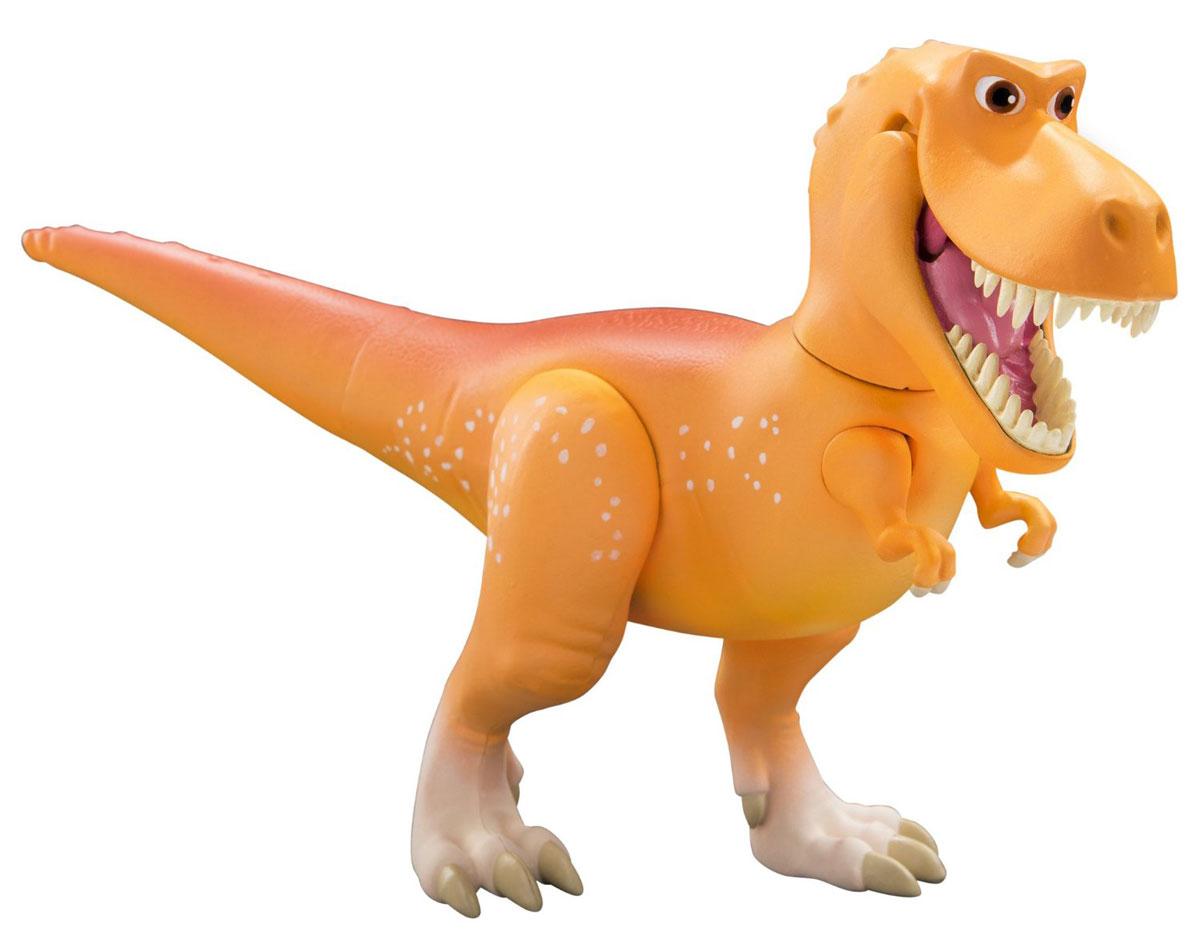 Хороший динозавр Фигурка Рамзи62043Фигурка Хороший динозавр Рамзи великолепного качества надолго увлечет ребенка игрой, а затем будет очень красиво и реалистично смотреться на полке. Выполнена из безопасного и прочного материала. У игрушки множество подвижных частей: вращается шея и голова, подвижен хвост, открывается пасть и двигаются лапы. С таким динозавром возможно воссоздать любые захватывающие сцены. Фигурка может стать персонажем увлекательной сюжетно-ролевой игры, которая способствует умственному развитию ребенка. Манипуляции с ней будут развивать мелкую моторику рук и зрительную координацию движений. Ваш ребенок будет в восторге от такого подарка!