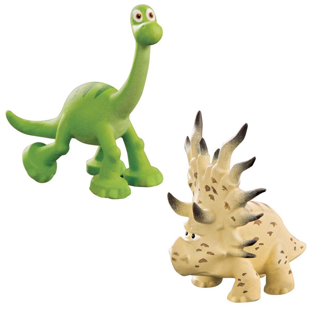 Хороший динозавр Набор фигурок Арло и Аконтофиопс62301В наборе фигурок Хороший динозавр Арло и Аконтофиопс представлены 2 фигурки: динозавр Арло, главный герой мультфильма Хороший динозавр, и загадочный Аконтофиопс. У Арло беспечная добродушная мордочка, такая же, как в мультике, а Аконтофиопс выглядит очень строгим и серьезным. Фигурки выполнены с высокой степенью детализации, в точности похожи на свои анимационные прототипы. Набор можно совместить с другими комплектами фигурок, чтобы расширить диапазон сюжетных сцен с участием ключевых героев. Все комплекты продаются отдельно. Ваш ребенок часами будет играть с такой игрушкой, придумывая различные истории.