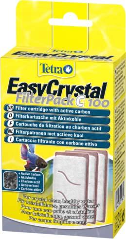 Фильтрующие картриджи с углем для аквариума Tetra Cascade Globe 3 шт.211841TetraTec EC FilterPack C 100 набор фильтрующих картриджей с углем. Фильтрующие картриджи TetraTec EC FilterPack C 100 с углем созданы специально для аквариумов вида Tetra Cascade Globe. Реализуются в наборе, состоящим из трех штук. Картриджи устанавливаются во внутренние фильтры модели EasyCrystal Filter С 100, выполняют все существующие виды очистки аквариумной среды. Постоянное использование губок предоставляет пользователю возможность долгое время не менять воду, устранить неприятный запах, уничтожить болезнетворную флору, которая вредит аквариумным обитателям. Размер товара, мм: 40*80*160.