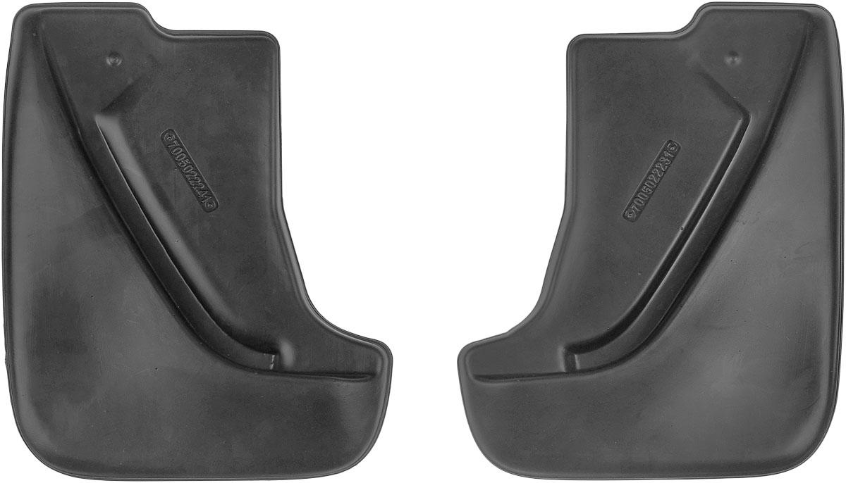 Комплект задних брызговиков L.Locker, для Nissan Juke (14-), 2 шт7005022261Комплект L.Locker состоит из 2 задних брызговиков, изготовленных из высококачественного полиуретана. Уникальный состав брызговиков допускает их эксплуатацию в широком диапазоне температур: от -50°С до +50°С. Изделия эффективно защищают кузов автомобиля от грязи и воды, формируют аэродинамический поток воздуха, создаваемый при движении вокруг кузова таким образом, чтобы максимально уменьшить образование грязевой измороси, оседающей на автомобиле. Разработаны индивидуально для каждой модели автомобиля. С эстетической точки зрения брызговики являются завершением колесных арок. Установка брызговиков достаточно быстрая. В комплект входят необходимые крепежи и инструкция на русском языке. Комплект подходит для моделей с 2014 года выпуска. Комплектация: 2 шт. Размер брызговика: 29 см х 23 см х 2,5 см.