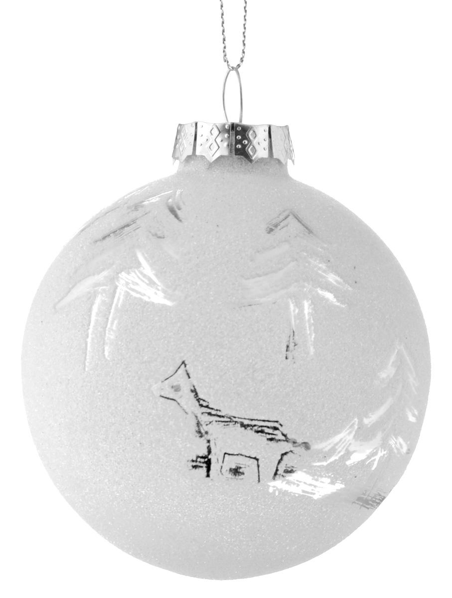 """Новогоднее подвесное украшение It's a Happy Day """"Зимняя сказка"""", диаметр 8 см 67967"""