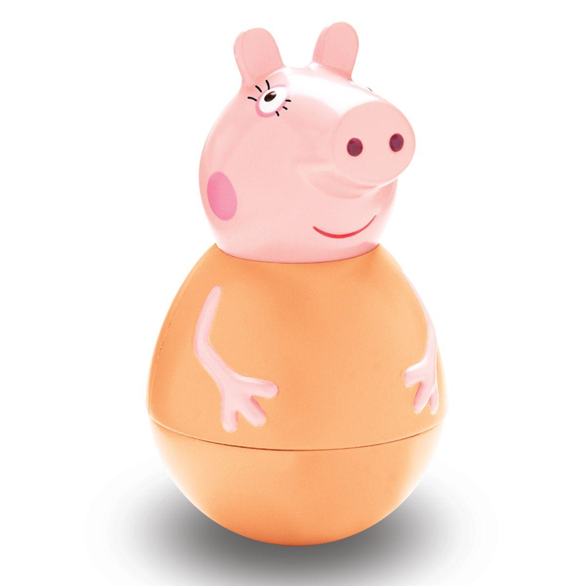 Peppa Pig Неваляшка Мама Пеппы28797Неваляшка Peppa Pig Мама Пеппы, созданная по мотивам мультсериала Peppa Pig привлечет внимание вашего малыша и станет для него любимой игрушкой. Качайте ее в разные стороны, а она никогда не упадет. Веселая игра с ней развивает у детей координацию движений, тренирует цветовосприятие и мышление. Соберите коллекцию неваляшек в виде любимых героев мультфильма «Свинка Пеппа» и устраивайте веселые игры с малютками!