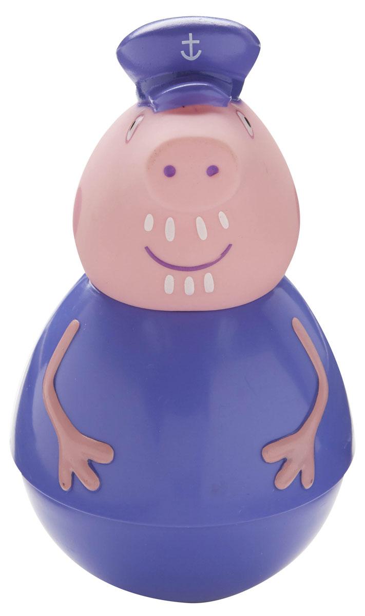 Peppa Pig Фигурка неваляшка Дедушка Пеппы28800В наборе «Дедушка Пеппы» ТМ «Свинка Пеппа»: фигурка-неваляшка дедушки размером 14,3 х 8,2 см с выпуклыми ручками. Игрушка выполнена из пластика и пластизоля. Товар сертифицирован и безопасен для детского использования. Упаковка – коробка с блистером размером 23,5 х 19 х 9 см.