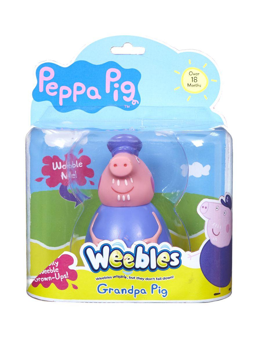Peppa Pig Фигурка неваляшка Дедушка Пеппы