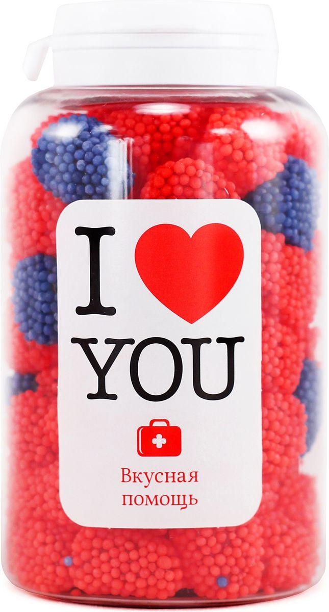 Конфеты Вкусная помощь Я тебя люблю, 250 мл конфеты вкусная помощь я тебя люблю 150 г