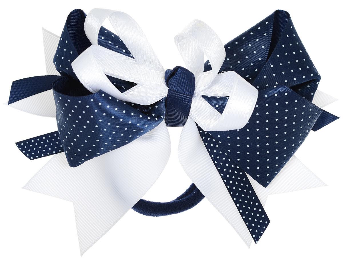 Baby\'s Joy Бант цвет темно-синий с белой лентой MN 213 ( MN 213 )
