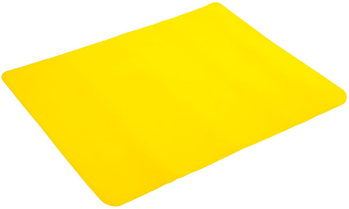Коврик для выпечки Mayer & Boch, цвет: желтый, 38 х 28 см21938_желтыйКоврик для выпечки Mayer & Boch, изготовленный из силикона, используется для приготовления любых продуктов (мяса, рыбы, овощей) в духовках, микроволновых печах. Позволяет готовить без масла и жира, выдерживает температуру до 220°С. Коврик применяется в качестве подложки на противень, форму для выпечки, сковороду. Изделие можно использовать и для заморозки продуктов в морозильных камерах, а также для сушки грибов, ягод. Подходит для многоразового использования. Можно мыть в посудомоечной машине.
