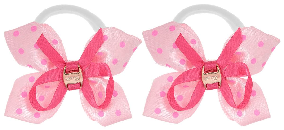 Baby's Joy Резинка для волос цвет розовый малиновый 2 шт MN 39/2