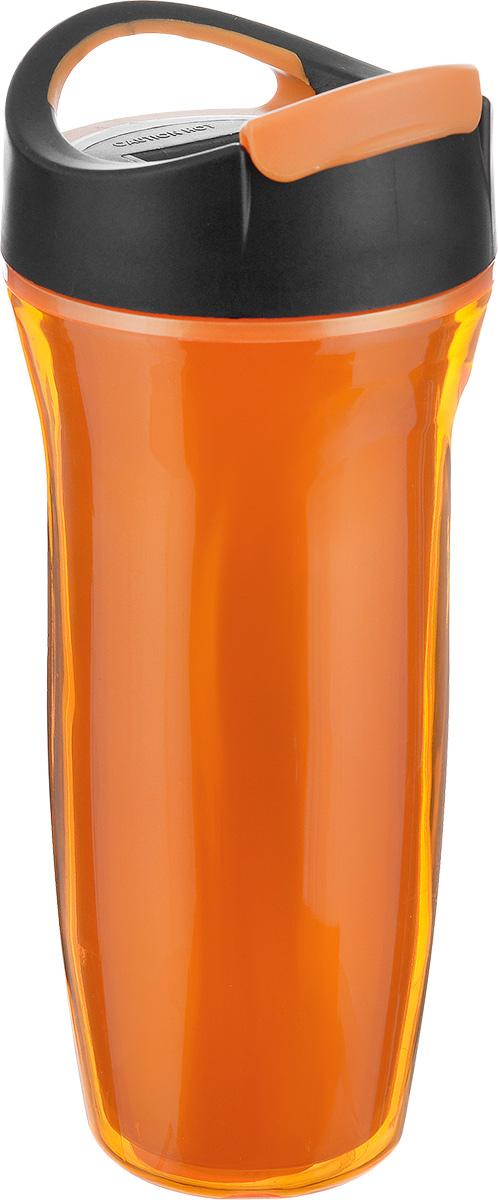 Кружка дорожная Cool Gear Vortex для горячих напитков, цвет: оранжевый, черный, 660 мл. 18601860_оранжевыйДорожная кружка Cool Gear Vortex изготовлена из высококачественного BPA- free пластика, не содержащего токсичных веществ. Двойные стенки дольше сохраняют напиток горячим и не обжигают руки. Надежная закручивающаяся крышка с защитой от проливания обеспечит дополнительную безопасность. Крышка оснащена клапаном для питья. Оптимальный объем позволит взять с собой большую порцию горячего кофе или чая. Идеально подходит для холодных напитков. Оригинальный дизайн, яркие, жизнерадостные цвета и эргономичная форма превращают кружку в стильный и функциональный аксессуар. Кружка идеальна для ежедневного использования. Она станет вашим неотъемлемым спутником в длительных поездках или занятиях зимними видами спорта. Не рекомендуется использовать в микроволновой печи и мыть в посудомоечной машине. Диаметр кружки по верхнему краю: 8,5 см. Высота кружки (с учетом крышки): 22,5 см.